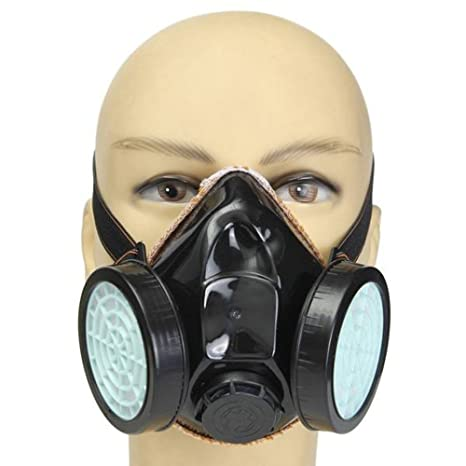 Spray Paint Mask >> Anti Dust Gas Spray Paint Dual Respirator Industrial Chemical Mask