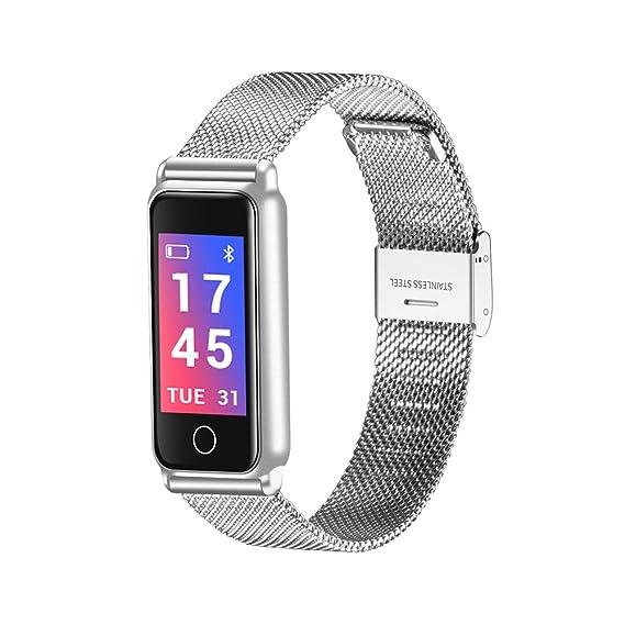 Digital Reloj de Moda Reloj Casual Chino Bluetooth Calendario Resistente al Agua Reloj Casual Aleaci245n Banda Lujo Moda: Amazon.es: Relojes