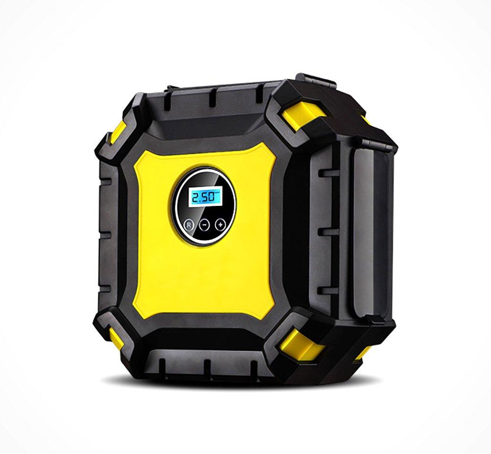 YLG Square Compresor De Aire, Inflador Portátil con Pantalla Digital, Luz LED, 12V,Cable De 3M,para Neumáticos, Objetos Inflables: Amazon.es: Deportes y ...