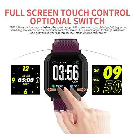 LXD Monitor de presión arterial de ritmo cardíaco Podómetro ...