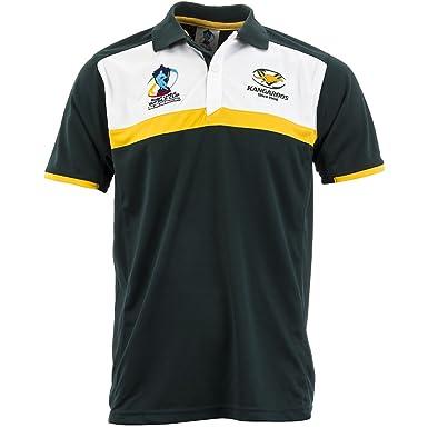 Australia 2013 Copa del Mundo de Rugby Polo de manga corta para ...
