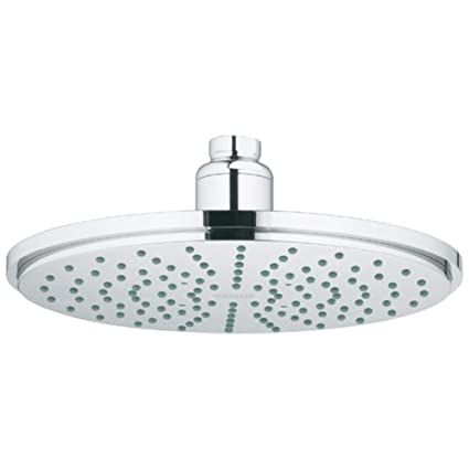 rain shower head canada. GROHE 28373000 Rainshower Cosmopolitan Metal 210 1 Spray Showerhead  Starlight Chrome