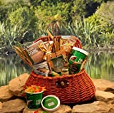 Fishing Gift Basket: The Fisherman's Creel -Large | Gourmet Gift Basket for Fisherman