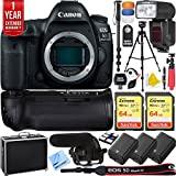 5d mark ii body - Canon 5D Mark IV EOS 30.4MP Full Frame DSLR Camera Pro Memory Triple Battery & Grip SLR Video Recording Bundle - Newly Released 2018 Beach Camera Value Bundle (SLR Video Recording Bundle)