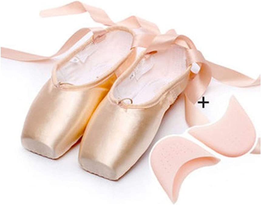 Satin Canvas Toe Soft Ballet Pointe Dance Athlete Shoe Pads For Women Girl Shoes