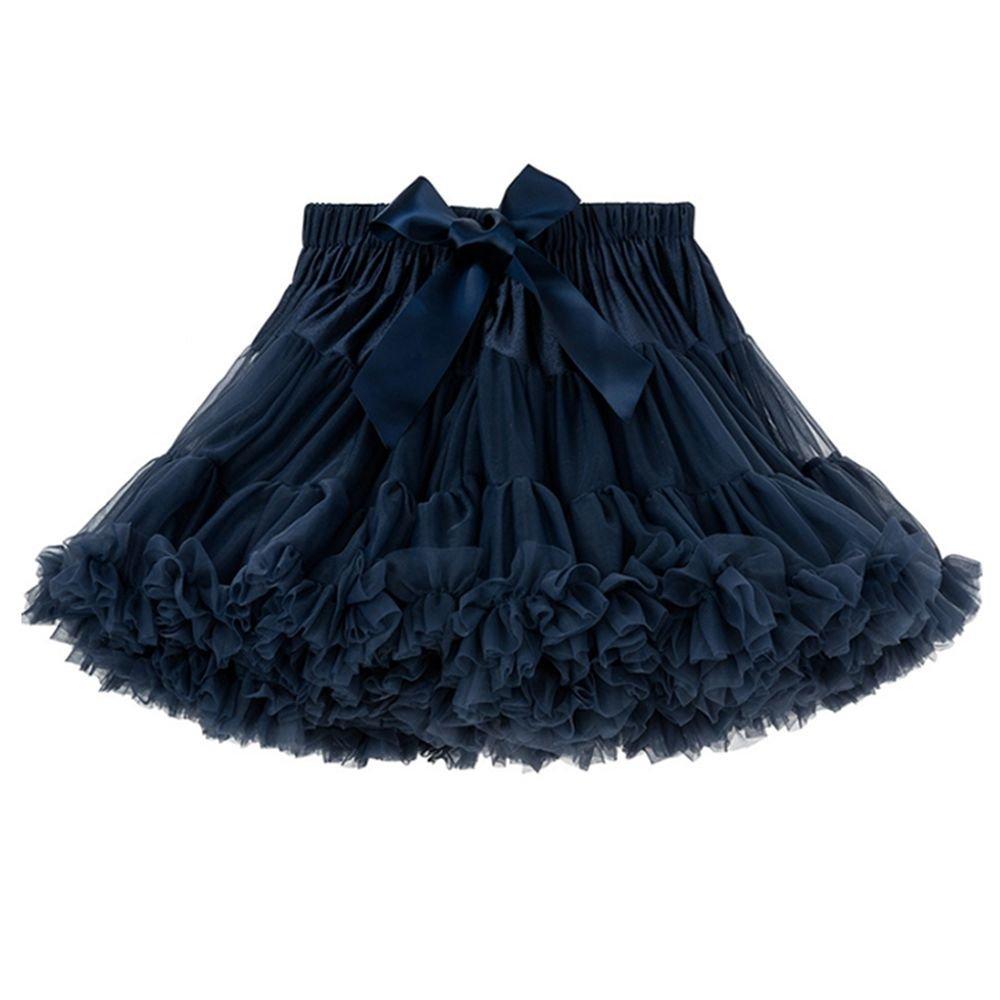 Twippo Girls' Fluffy Tulle Pleated Tutu Skirt Princess Ballet Dance Pettiskirt Tiered 5-6T/130