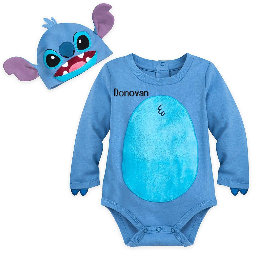 Amazon Com Disney Stitch Costume Bodysuit Set For Baby Baby