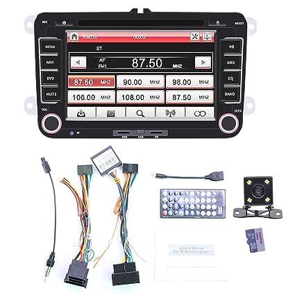 HOTEU - Navegación GPS para Coche con Bluetooth, Radio GPS ...