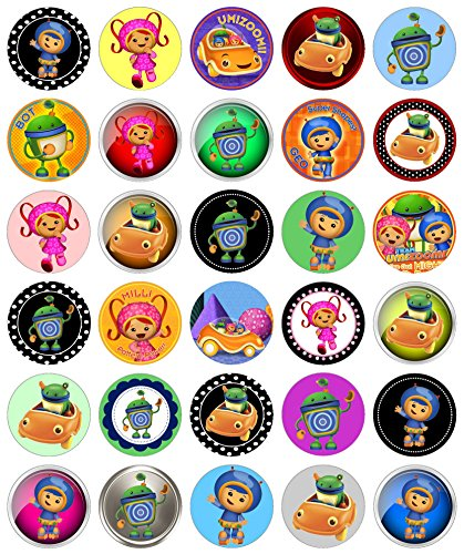 30 Precut Images Team Umizoomi Set -