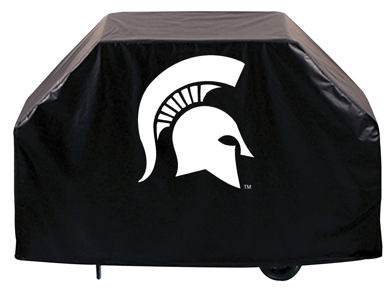 Michigan State Spartans HBSブラックアウトドアHeavy DutyビニールBBQグリルカバー B01ETT19SY   72\