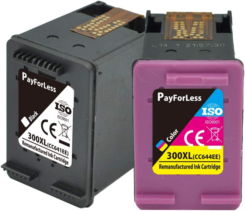 PayForLess 300XL Cartuchos de Tinta Compatible para HP 300XL con HP Photosmart C4780 C4680 D1660 D1663 D2530 D2545 D2560 D2660 D5560 F2420 F2480 F4210 (1 Negro, 1 Tricolor): Amazon.es: Electrónica