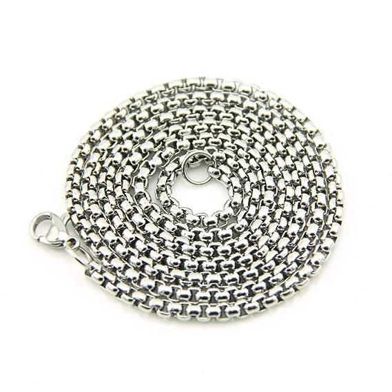 Xiaojing - Collar de cadena larga para mujer, color dorado gótico ...