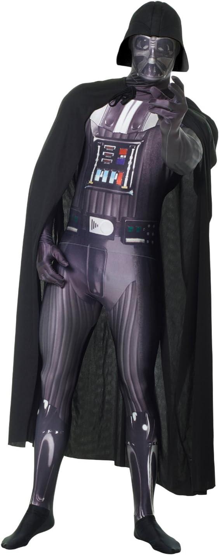 Morphsuits Disfraz de Darth Vader para adultos, tamaño XXL , color ...