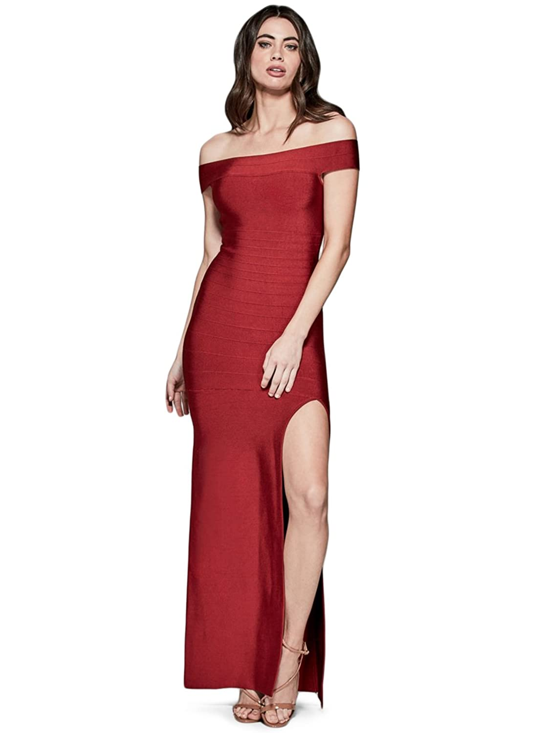 GUESS by Marciano Women\'s Carmella Bandage Gown at Amazon Women\'s ...