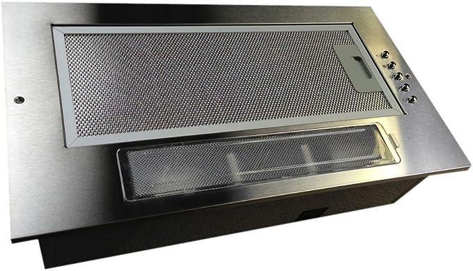 Universal 520 mm 52 cm para campana extractora de la cocina del pabellón del ventilador Extractor integrado debajo de doble Motor: Amazon.es: Hogar