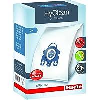 Miele 9917730 Staubbeutel GN HyClean 3D, 4 Staubbeutel, 1 Air Clean Abluftfilter für saubere Raumlauft, 1…