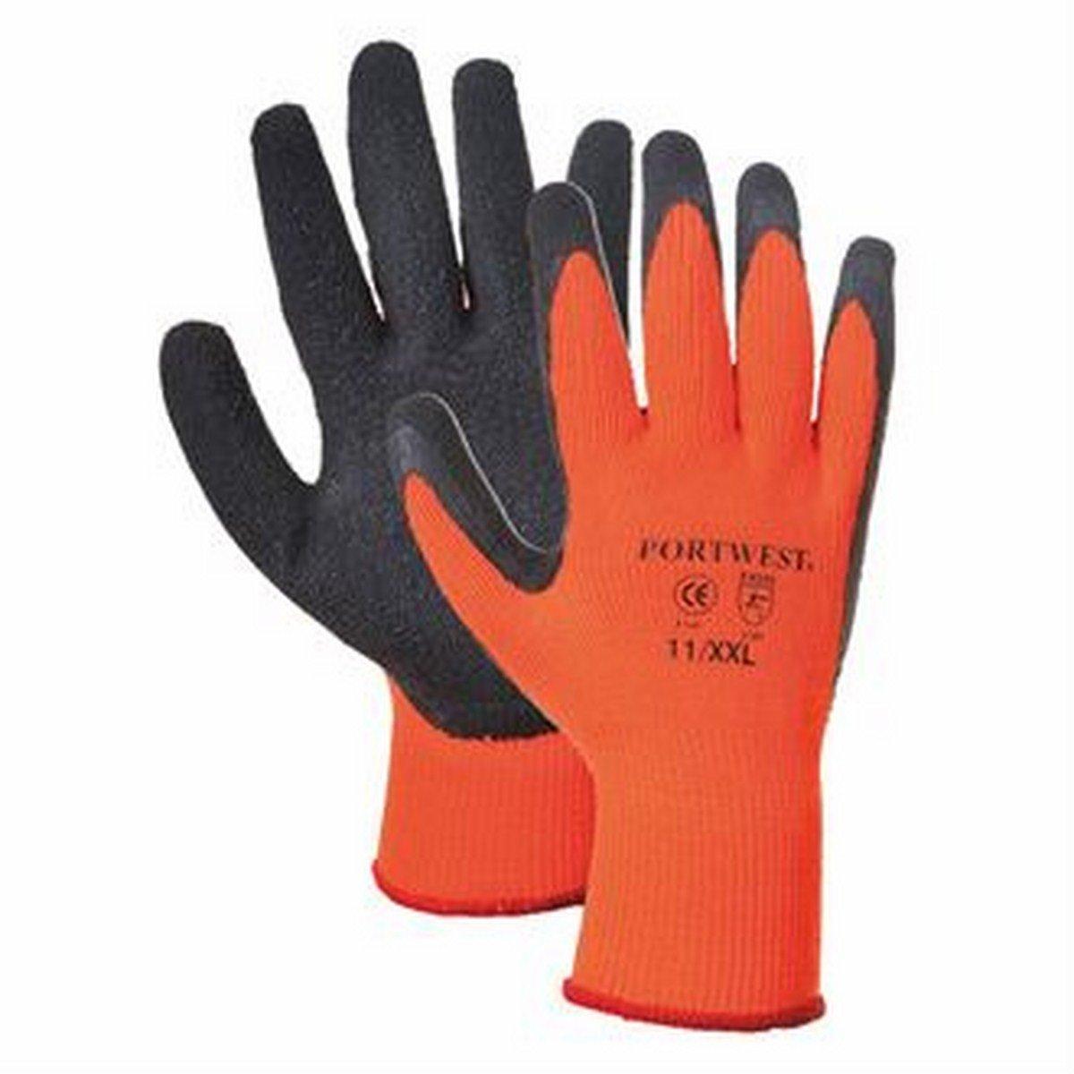 Orange, XL A140 Thermal grip glove