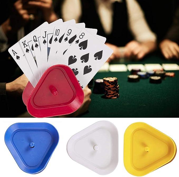 freih/ändig dreieckig Kartenspielhalter Pokerclip Poker f/ür Kinder Spielkartenhalter Senioren 4 St/ück Spielkartenhalter Erwachsene Spielkartenhalter
