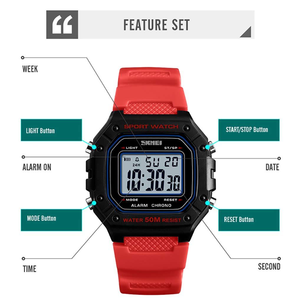 Amazon.com: HiIi Smartwatch - Reloj de pulsera para hombre ...