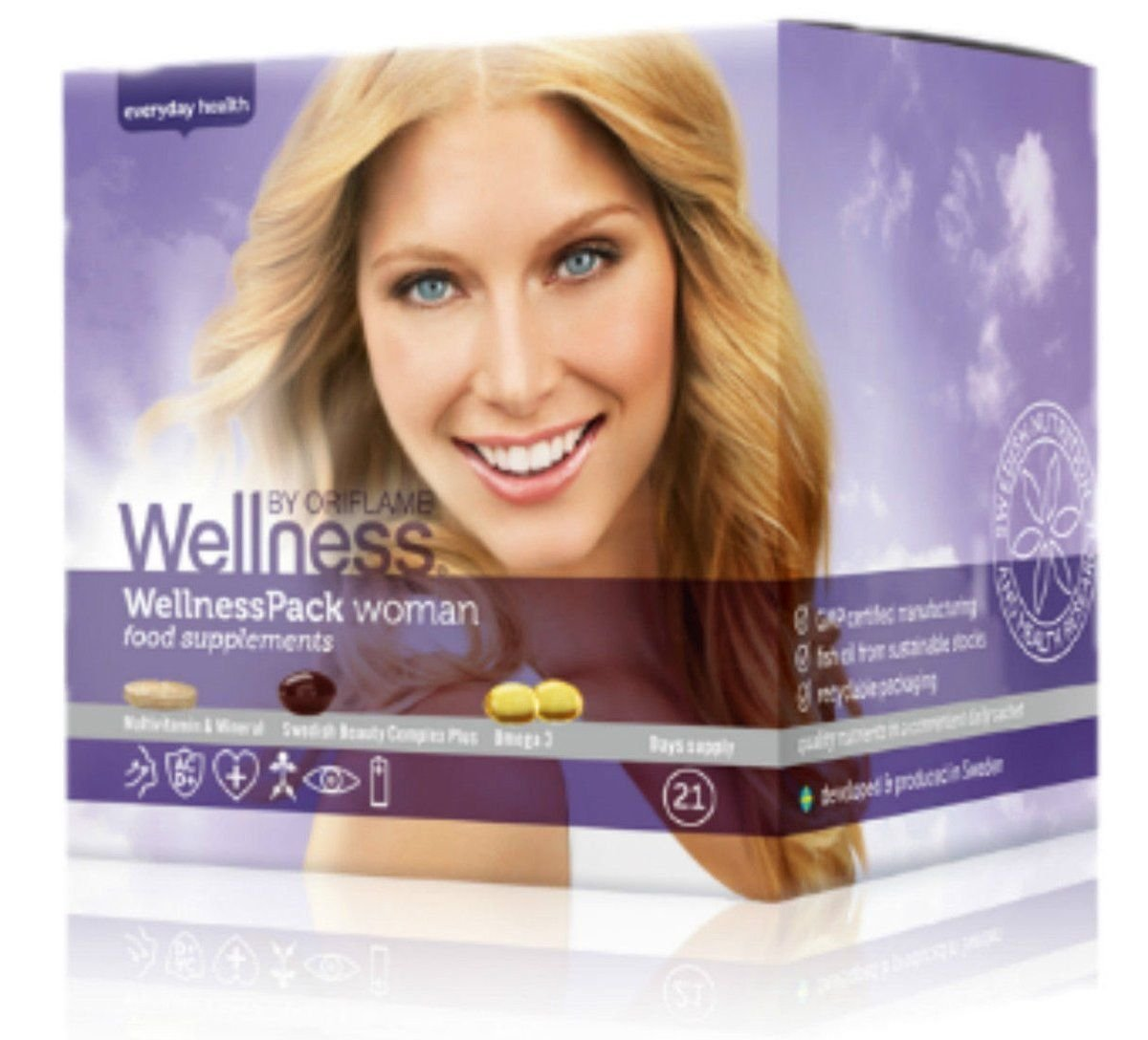 SET of 3 Wellness Packs for Woman (63 sachets)