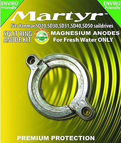 Martyr CM19644002660KITM Kit Ánodo en Dos Mitades, Magnesio: Amazon.es: Coche y moto