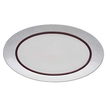 Dansk Mettalise Bronze Oval Platter  sc 1 st  Amazon.com & Amazon.com | Dansk Mettalise Bronze Oval Platter: Platters