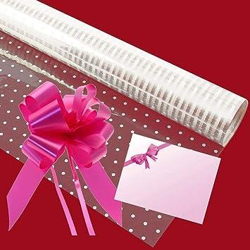 schleife aus geschenkpapier