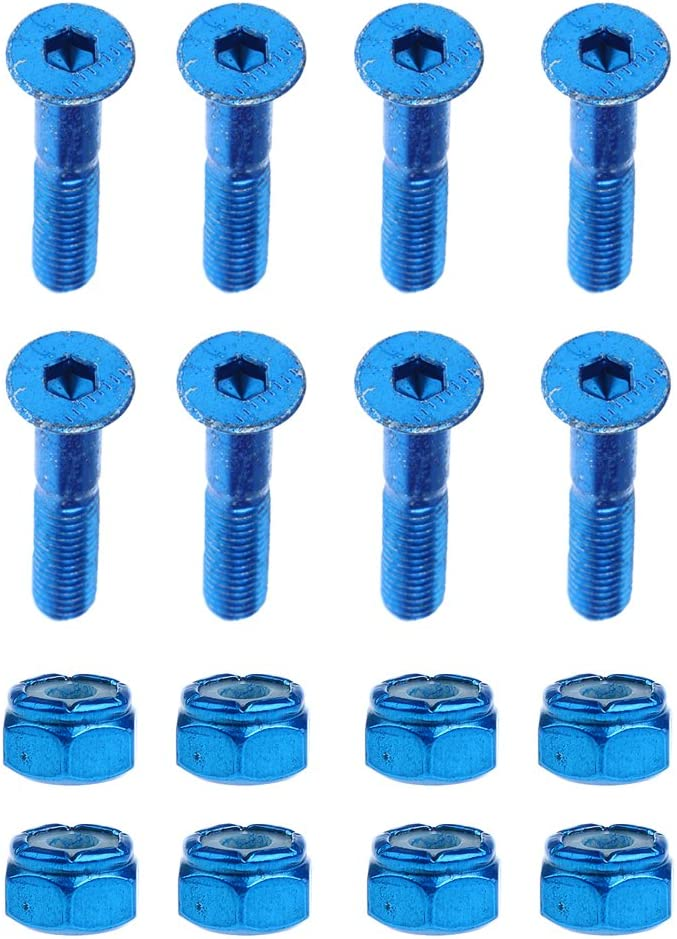 Tool Screws Nuts Skateboard Long board Accessories Replacement M5 Bolts