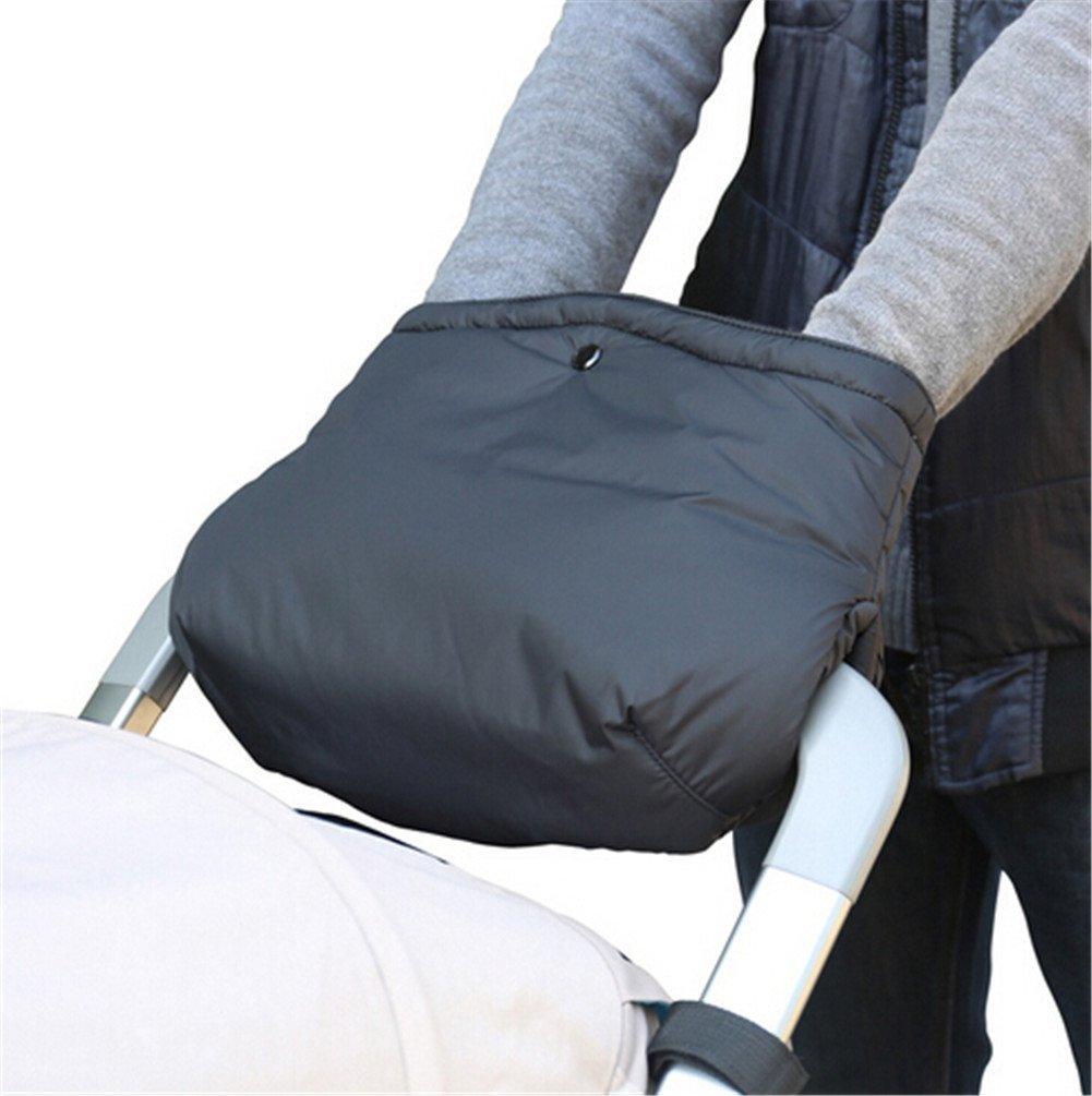 HEHENGSONG Baby Stroller Hand Muff Winter Waterproof Antifreeze Pram Pushchair Warmer Mitts Gloves mei_mei9
