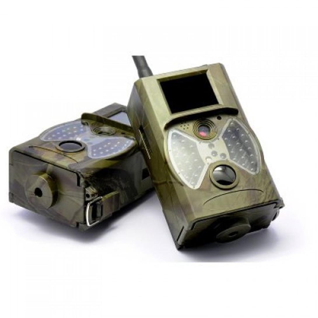 Dreamyth HC300M Scouting Hunting Camera HD Digital Infrared Trail Camera IR LED Practical (army green)