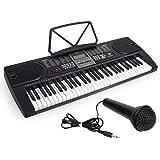 Kmise Digital Electric Eletronic Piano Keyboard 61 Keys Electronic Piano Keyboard LCD Screen