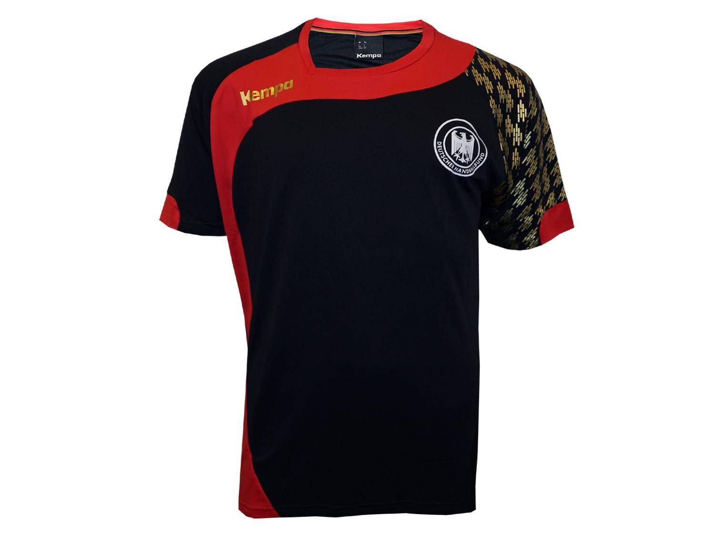 TALLA XXL. Kempa DHB Camiseta–Negro