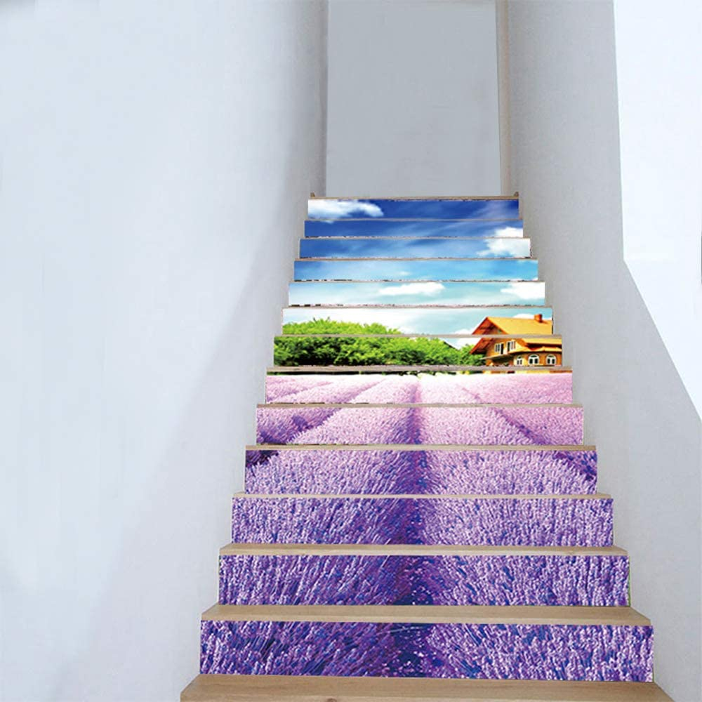 Details about  /3D Coconut Palm Tree KEP570 Stair Risers Decoration Mural Vinyl WallpaperKay