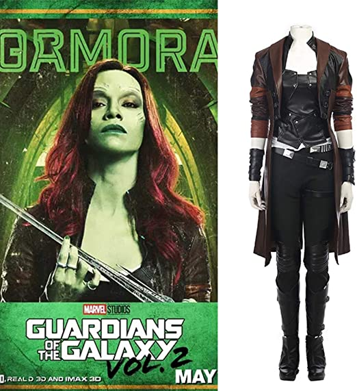 Lydias Anime Gamora Guardianes De La Galaxia Vol. 2 Cosplay ...