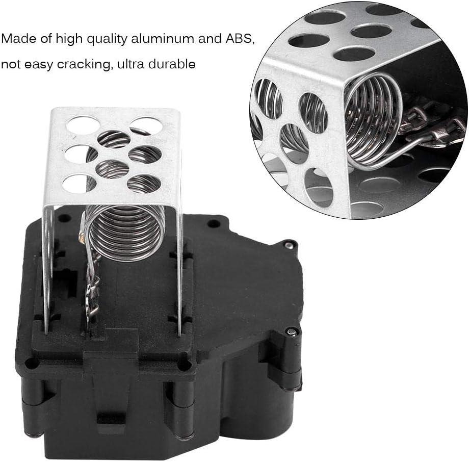 Hlyjoon HVAC R/ésistance de Ventilateur de Chauffage//Radiateur 9649247680 Moteur de R/ésistance de Commande de Ventilateur Climatisation en Aluminium+ABS pour M 2003-2008 C1 C4 Xsara N68 2000-2017