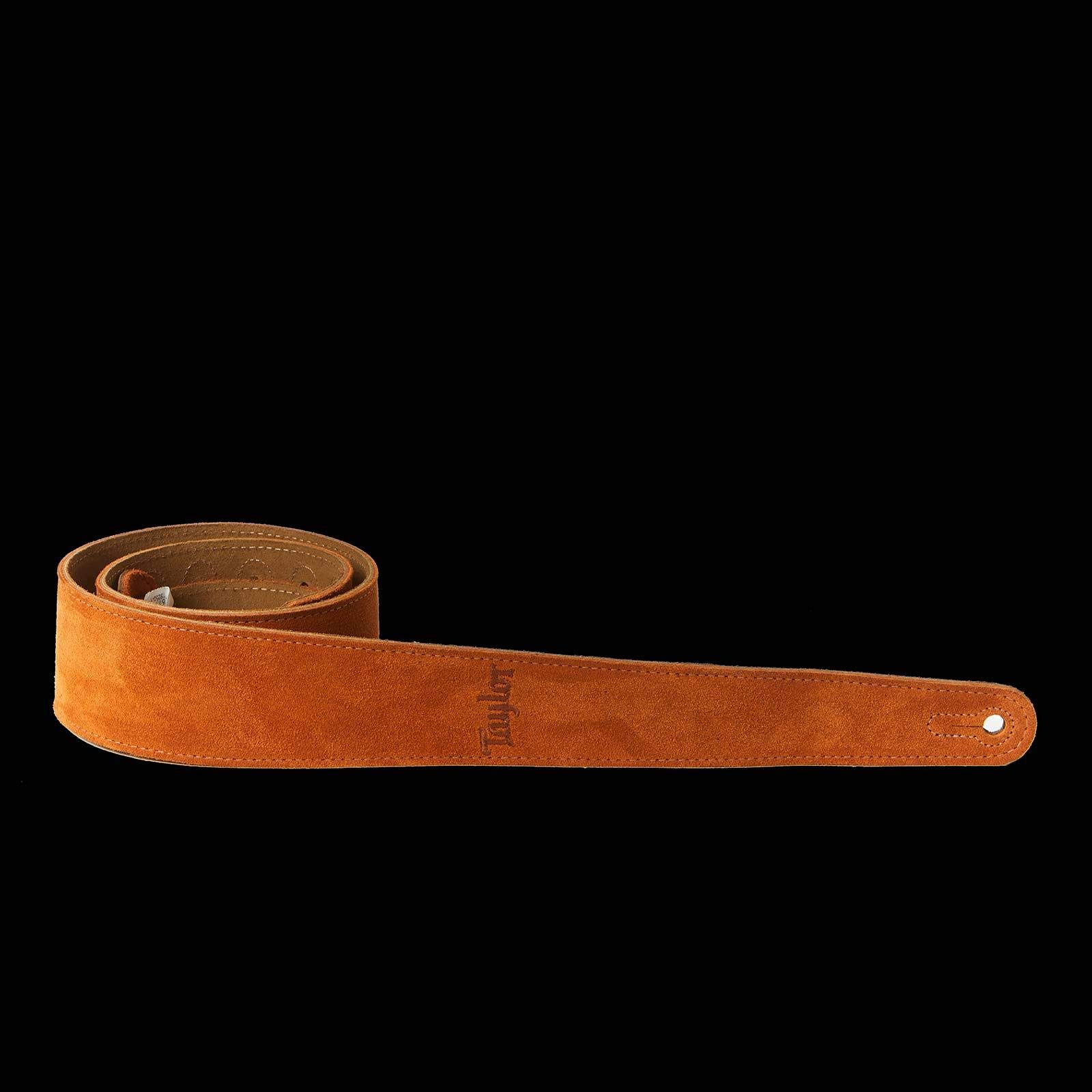 Taylor Guitars Suede Taylor Logo Guitar Strap (Honey) by Taylor Guitars