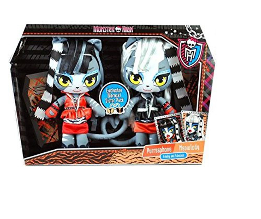 Monster High Exclusive Plush Werecat Sisters Purrsephone Meowlody Buy Online In Dominica At Dominica Desertcart Com Productid 3325774
