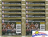 2016-17 Panini NBA Basketball Sticker Collection with 10 Factory Sealed Packs & 70 Brand New MINT Glossy Stickers! Look for Stickers of Top NBA Superstars including Curry, Lebron, Durant & Many More!