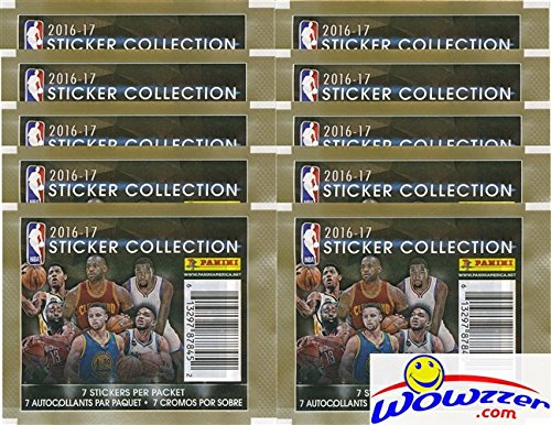 2016-17-panini-nba-basketball-sticker-collection-with-10-factory-sealed-packs-70-brand-new-mint-glos