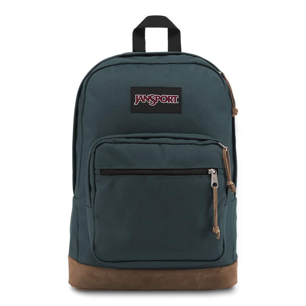 Jansport Right Pack Backpack - Classic Design Including 15'' Laptop Sleeve | Dark Slate by JanSport