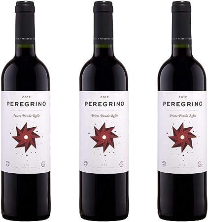 Peregrino Vino Tinto Roble - 3 botellas x 750ml - total: 2250 ml