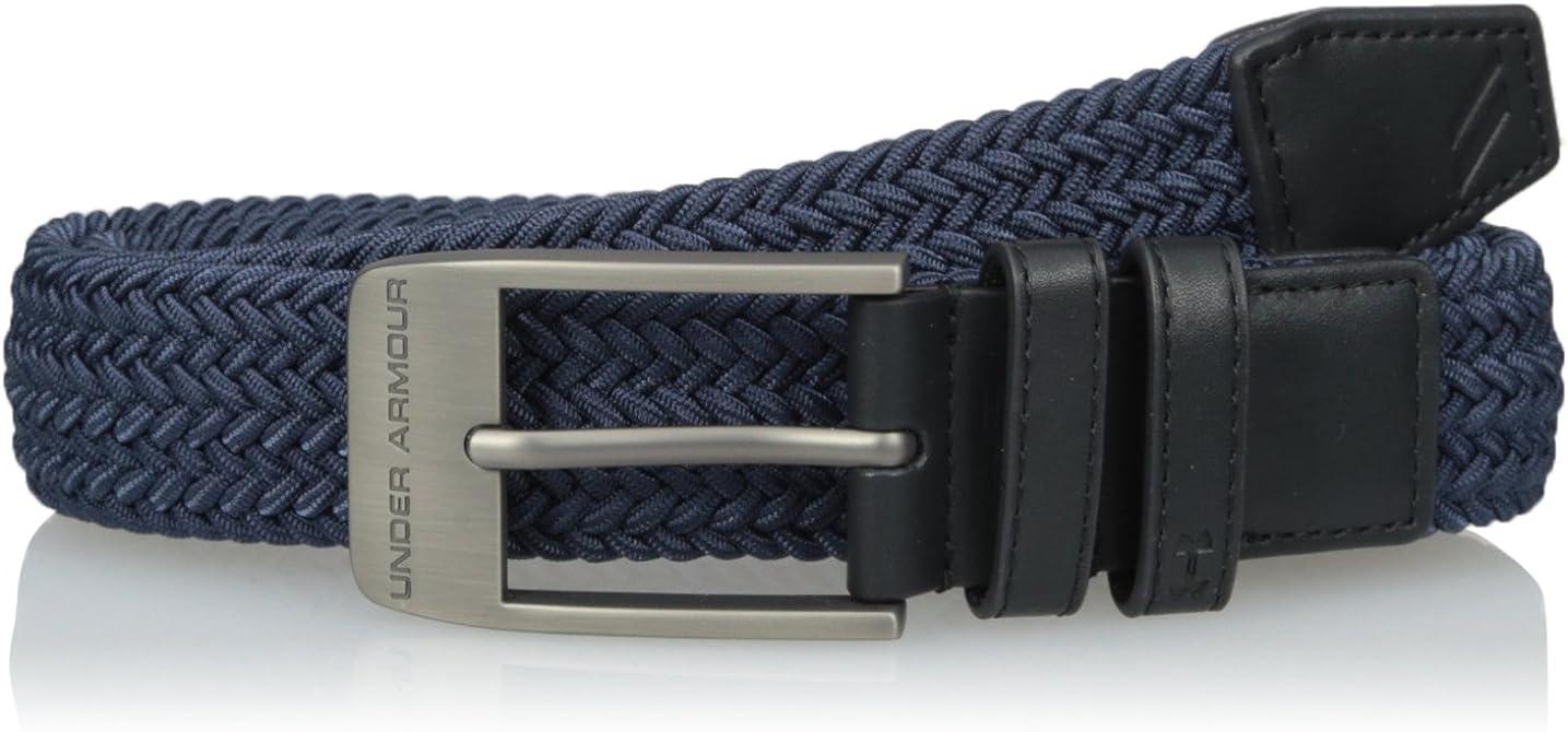 2019 Under Armour UA Braided 2.0 Men/'s Belt 1306538 Pick Color /& Size!!