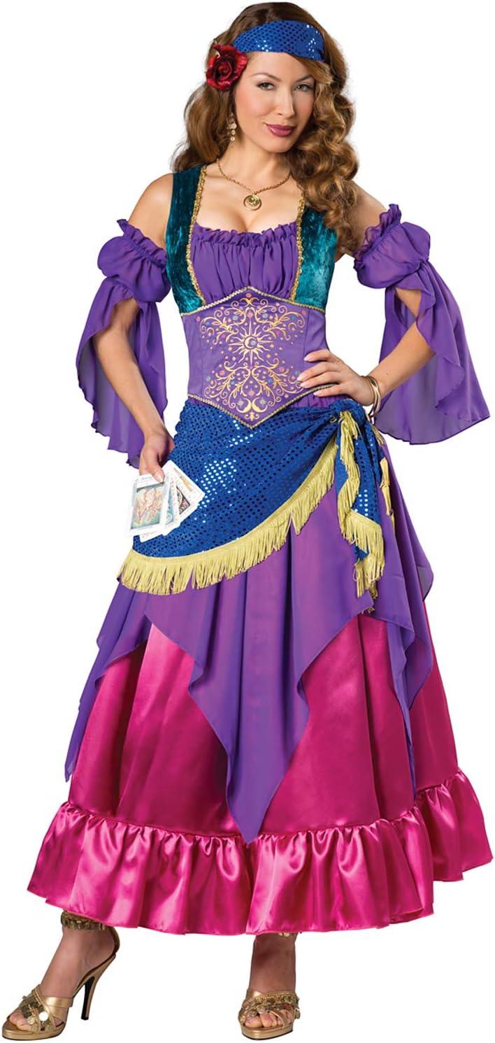 In Character Costumes Disfraz de zíngara adivinadora para Mujer ...