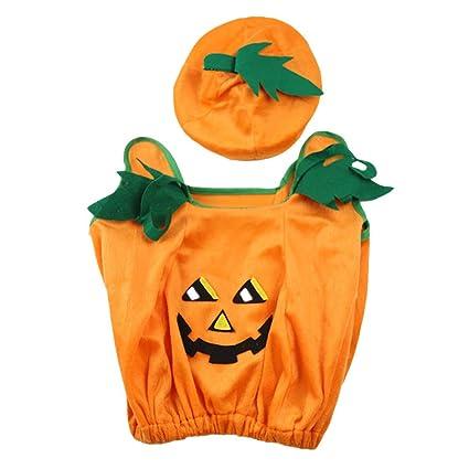 e2df1a1a17d Buy LUOEM Halloween Pumpkin Costumes Unisex Cute Kids Cosplay ...