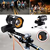 Auntwhale Bike USB Rechargeable LED Front Light Head Lamp Headlight Torch For MTB BMX Mountain Road Bike Cycling Gift (1Pc)