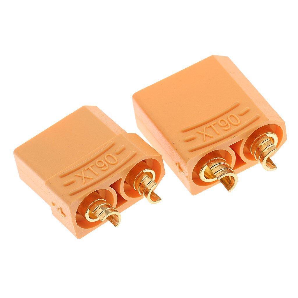 YD-7XGH-7V2F Conector XT90 Cubren Macho//Hembra para RC Motor de Bater/ía de Lipo 5 Pares YUNIQUE- Espana 10 Piezas Color Amarillo