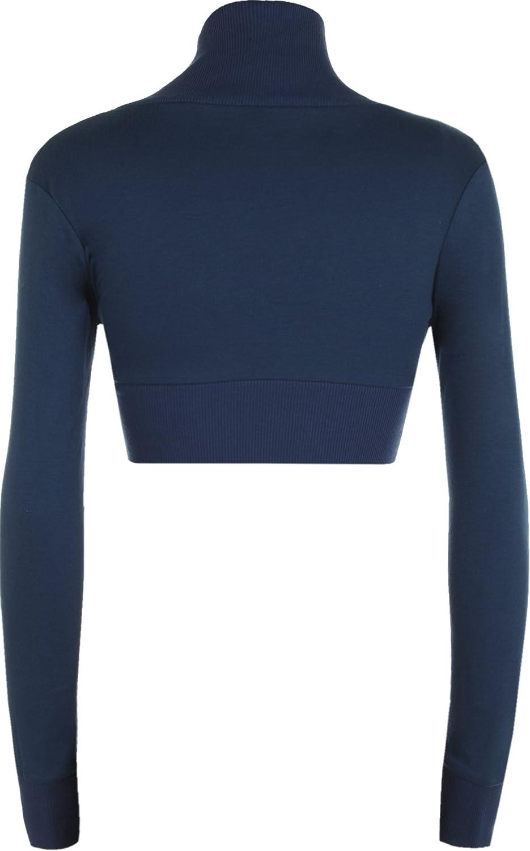 WearAll Ladies Shrug Long Sleeved Bolero Top Womens Szs8-14