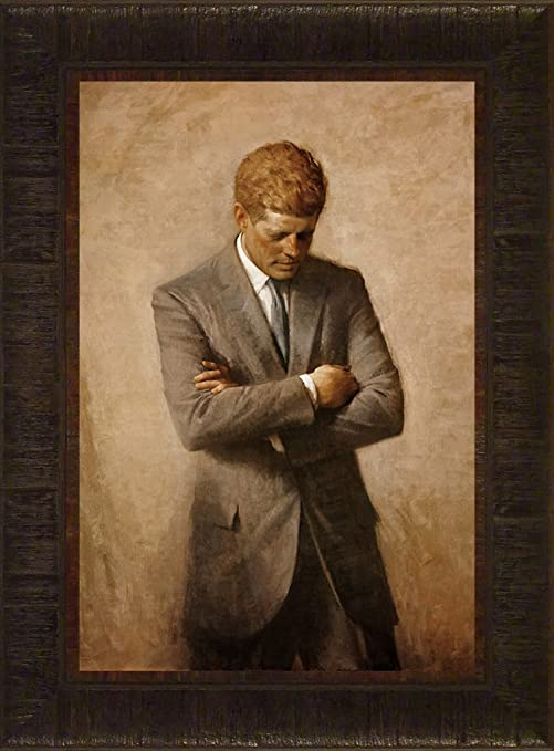 Art Print Poster John F Kennedy Deep in Thought