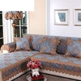 sofa towel/blue,ga, four seasons,anti-skidding ,european style, solid wood sofa towel/towel-A 60x60cm(24x24inch)
