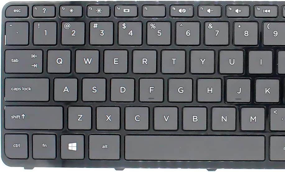 S-Union New Black with Frame Laptop US Keyboard for HP Pavilion touchsmart 15-E 15-N 15-E000 15-N000 15-N100 15-N000 15-n220us 15-n037cl 15-n211dx 15-n230us Replacement P//N:2B-069010110 708168-001